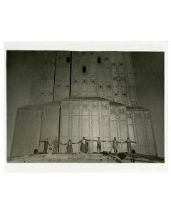 Opening celebration, 1937 May