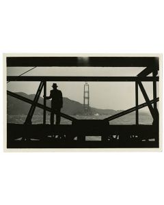 Looking across the Golden Gate, 1934 April