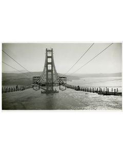 Constructing catwalks, 1935