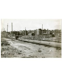 17th and Valencia Street [Temporary pipeline], 1906