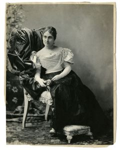 Portrait of Phoebe Apperson Hearst