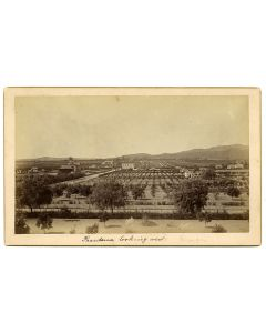 Pasadena, looking west