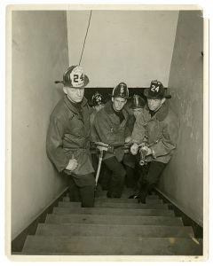 Fire fighters of Engine Co. No. 24 and Truck Co. No. 5, Los Angeles